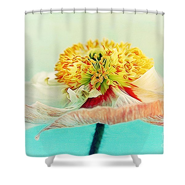 Lady Poppy 2 Shower Curtain