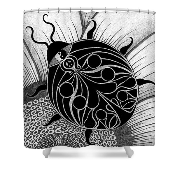 Lady Spirit  Shower Curtain