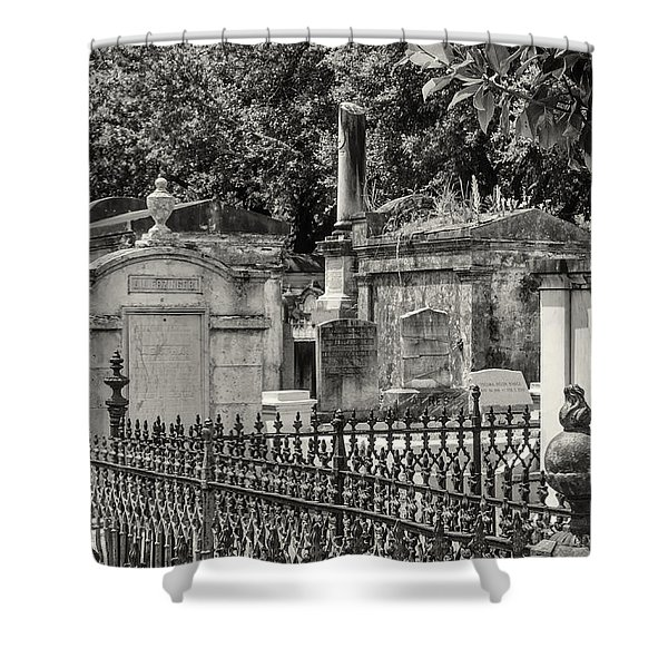 Lafayette Cemetery No. 1 Shower Curtain
