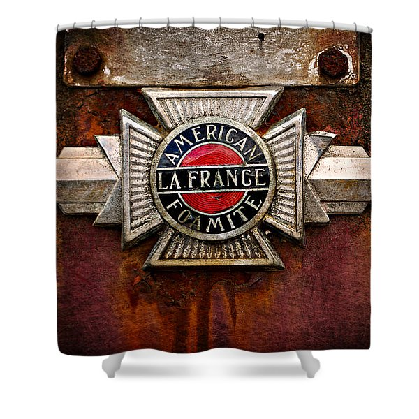 Lafrance Badge Shower Curtain