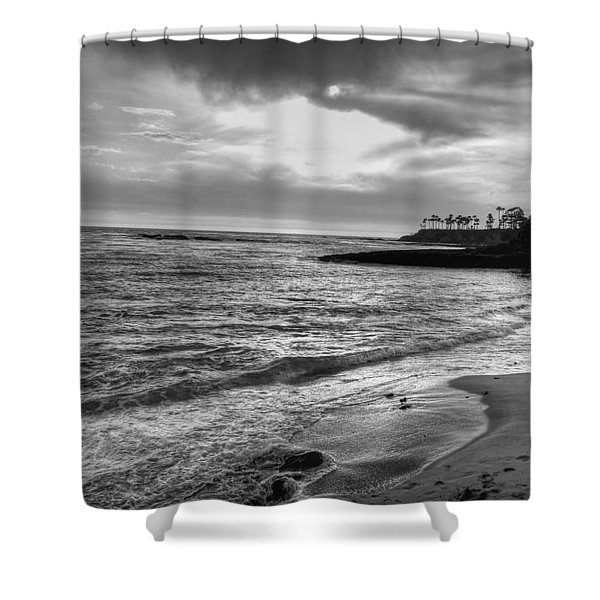 Laguna Beach Sunset Shower Curtain