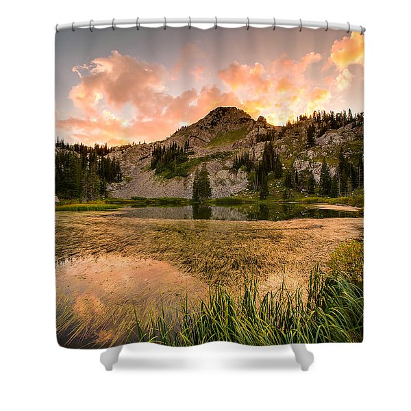 Lake Catherine Shower Curtain