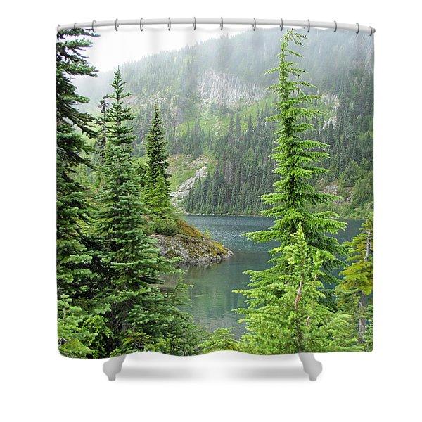 Lake Eunice II Shower Curtain