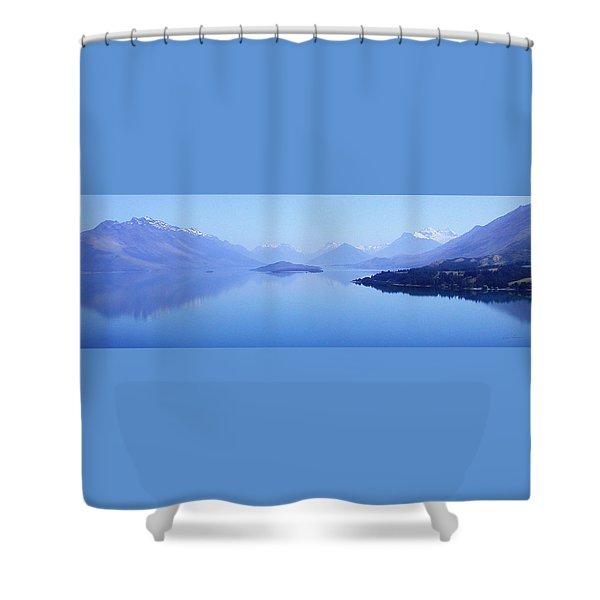Lake Glenorchy New Zealand Shower Curtain