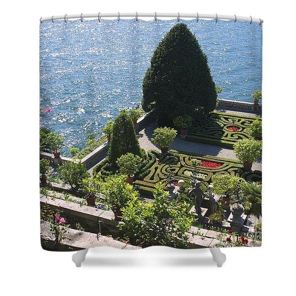 Lake Maggiore Magic Shower Curtain