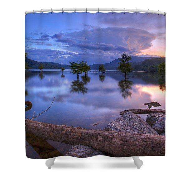 Lake Ocoee Shower Curtain