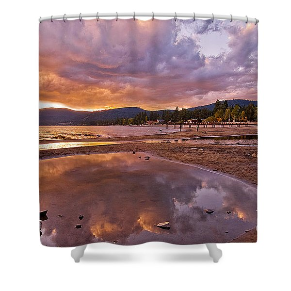 Shower Curtain featuring the photograph Lake Tahoe by Mae Wertz