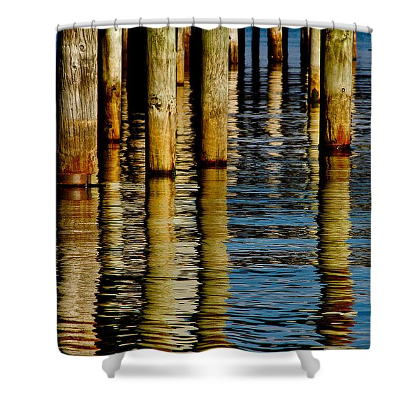 Lake Tahoe Reflection Shower Curtain