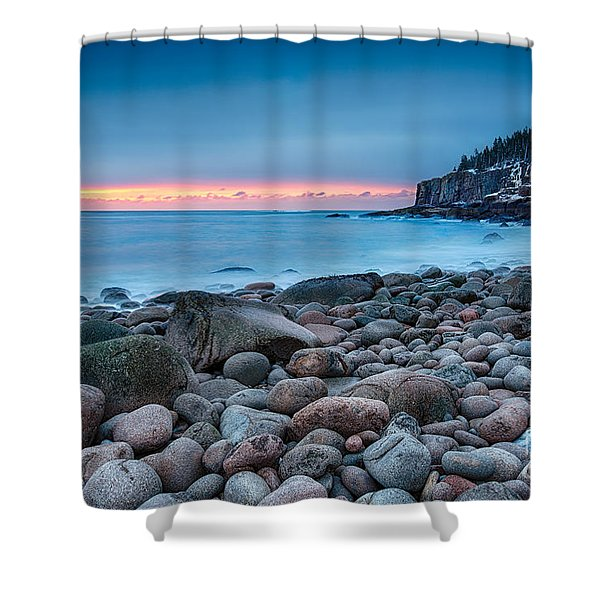 Land Of Sunrise Shower Curtain