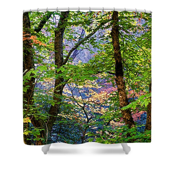 Land Of The Noonday Sun Shower Curtain