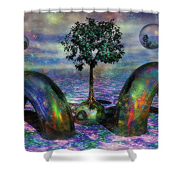 Land Of World 8624028 Shower Curtain