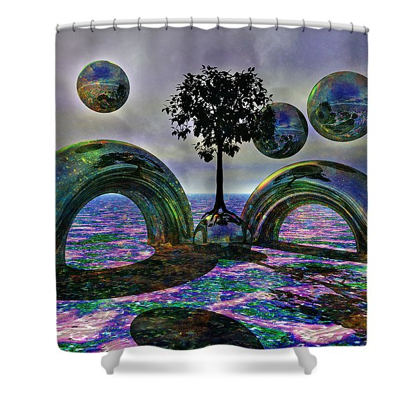 Land Of World 8624030 Shower Curtain