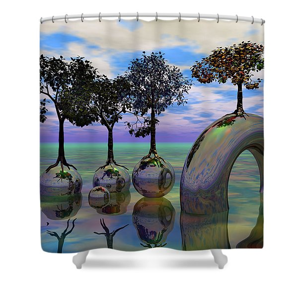 Land Of World 8624034 Shower Curtain