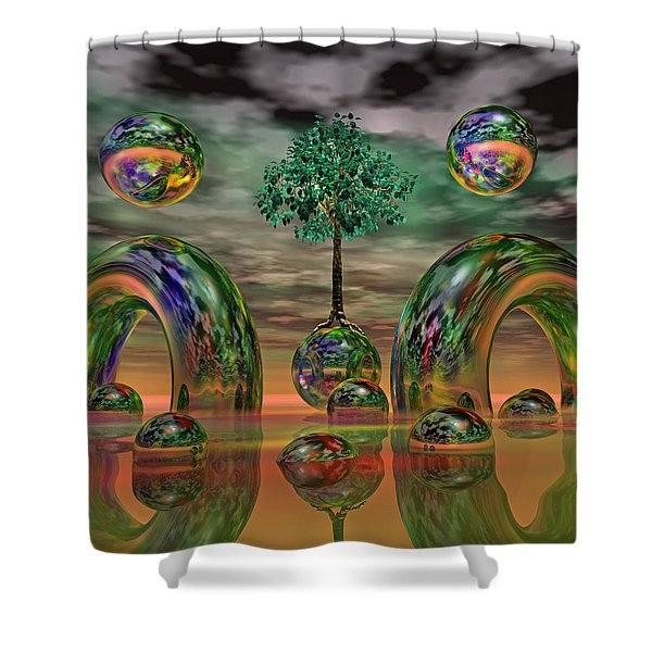Land Of World 8624036 Shower Curtain