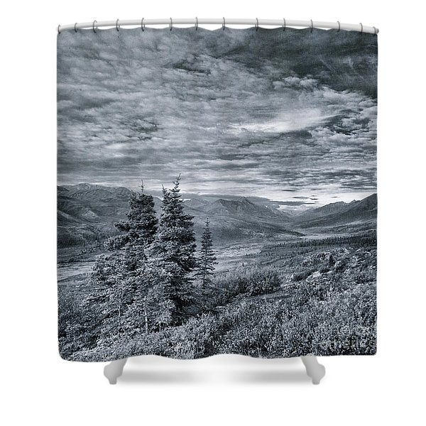 Land Shapes 18 Shower Curtain