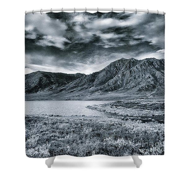 Land Shapes 33 Shower Curtain