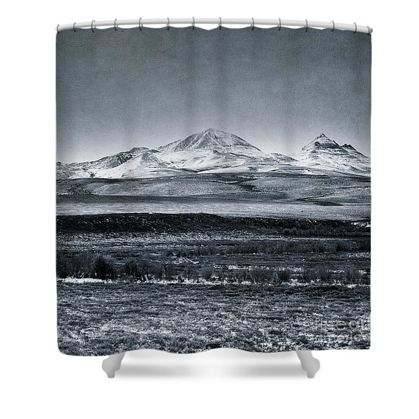 Land Shapes 7 Shower Curtain
