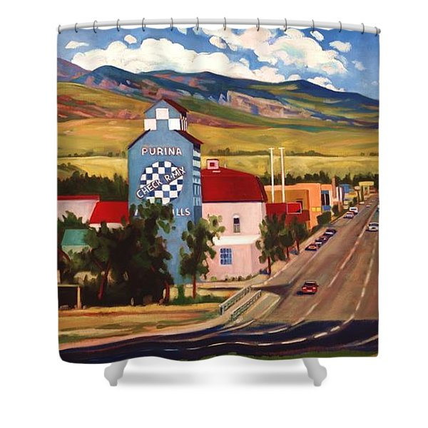 Lander 2000 Shower Curtain