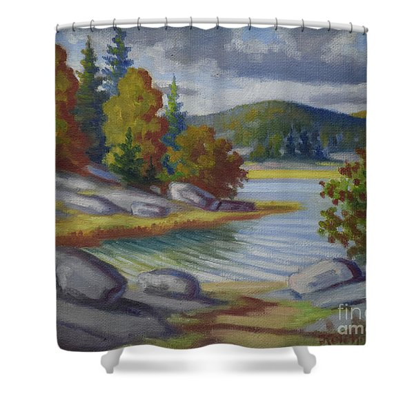 Landscape From Finland Shower Curtain