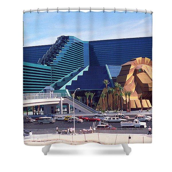 Las Vegas 1994 #9 Shower Curtain