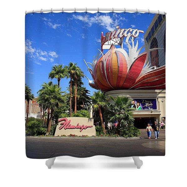 Las Vegas 2008 #1 Shower Curtain