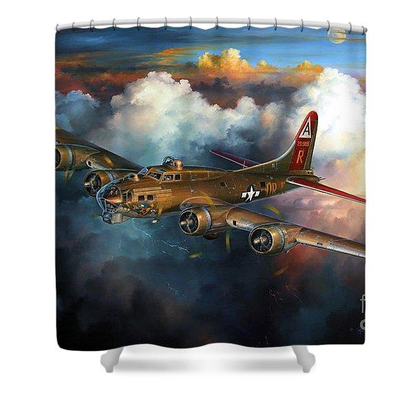Last Flight For Nine-o-nine Shower Curtain