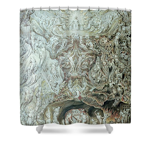 Last Judgement Wc Shower Curtain