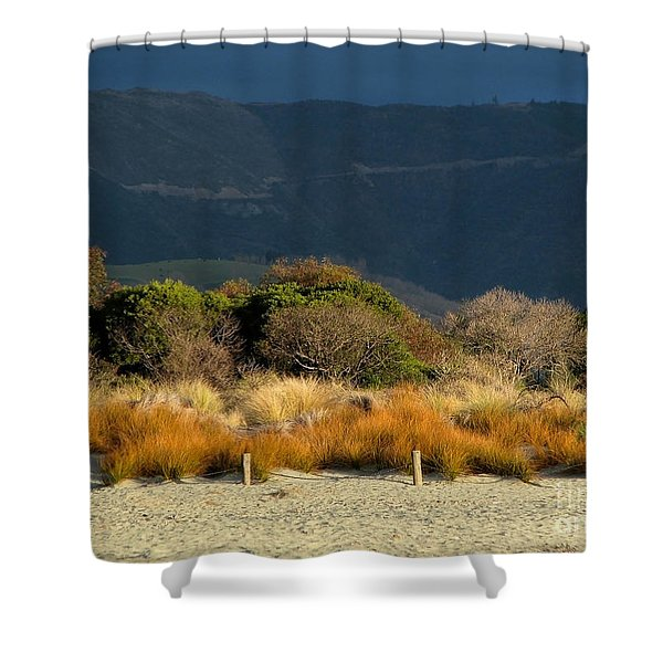 Late Afternoon Colours Shower Curtain
