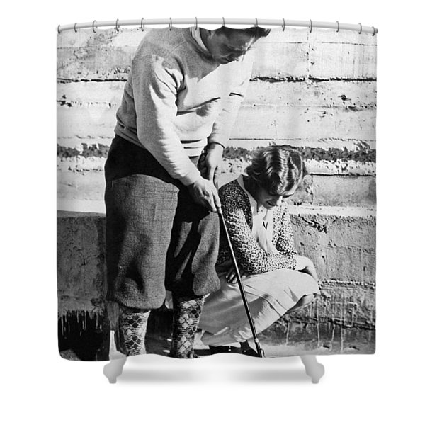 Latest In Novelty Golf Clubs Shower Curtain