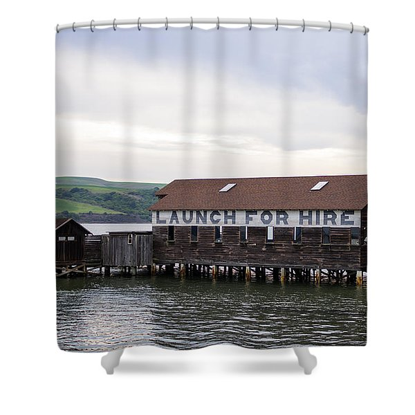 Launch For Hire Shower Curtain