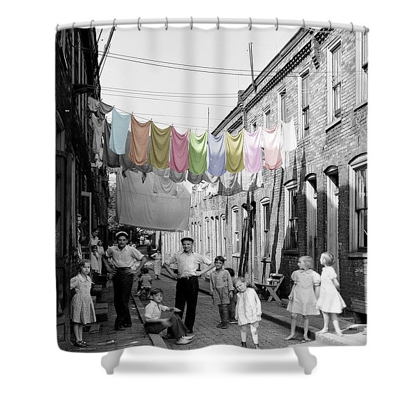 Laundry Day 2 Shower Curtain