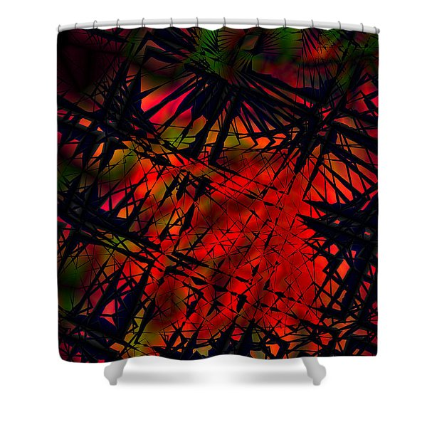 Laurion Heat 1 Shower Curtain