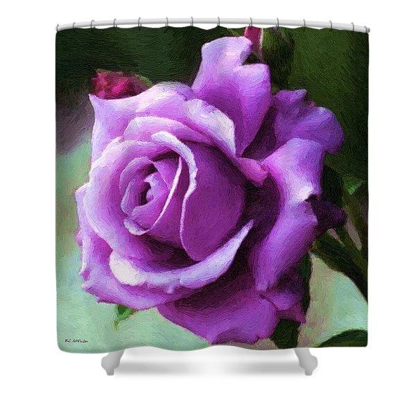 Lavender Lady Shower Curtain