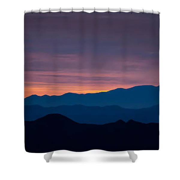 Layers - The Mojave I Shower Curtain