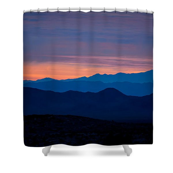 Layers - The Mojave IIi Shower Curtain