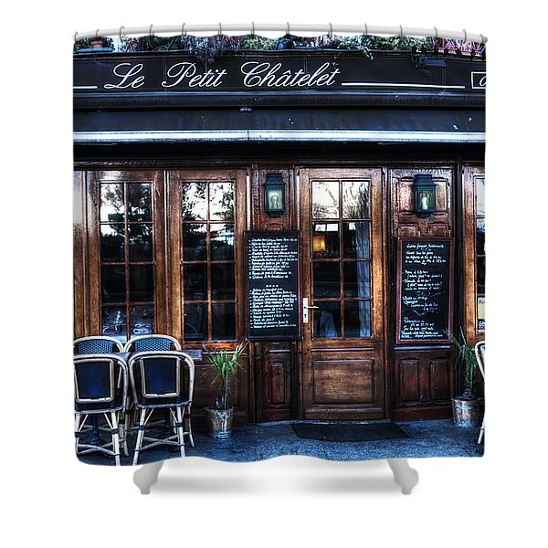 Le Petit Chatelet Paris France Shower Curtain