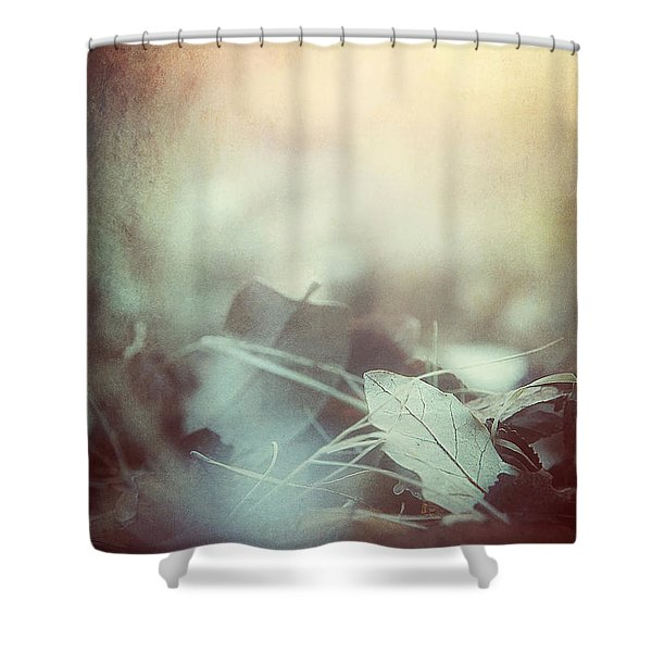 Leaves Of Time  Shower Curtain