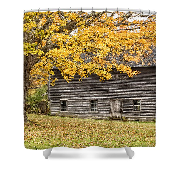 Leavitt's Barn Shower Curtain