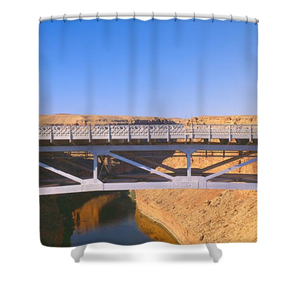 Lees Ferry In Marble Canyon, Navajo Shower Curtain