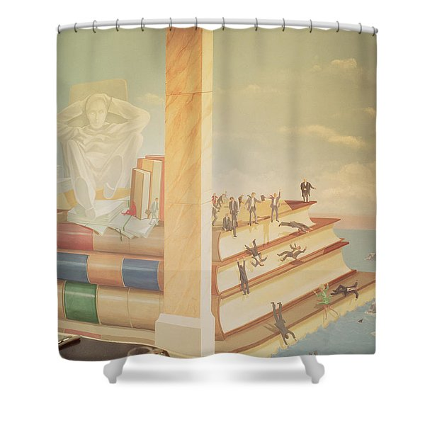 Legal Sloth And Pride Shower Curtain