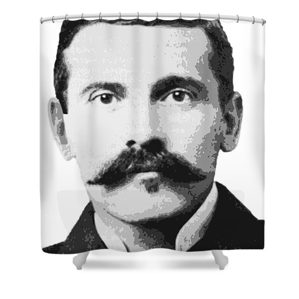 Legend Doc Holliday Shower Curtain
