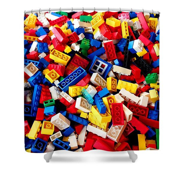 Lego - From 4 To 99 Shower Curtain
