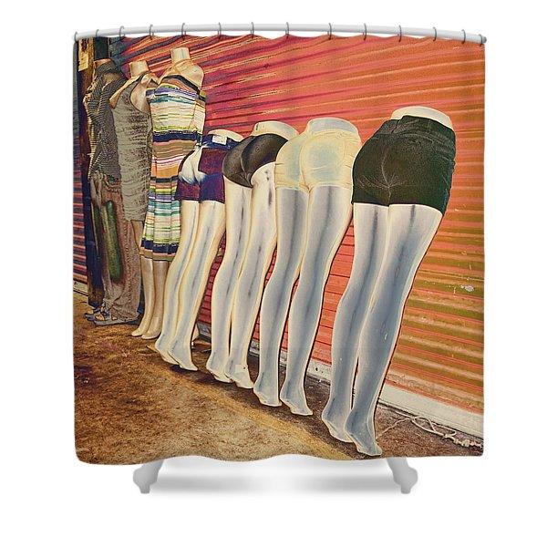 Legs 846a Shower Curtain