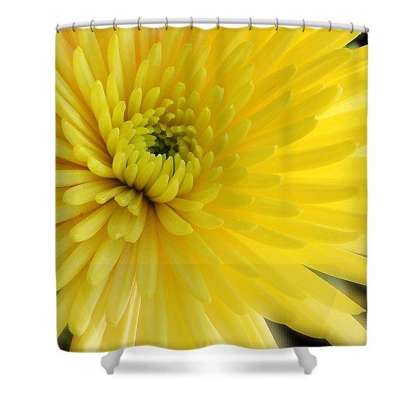 Lemon Mum Shower Curtain
