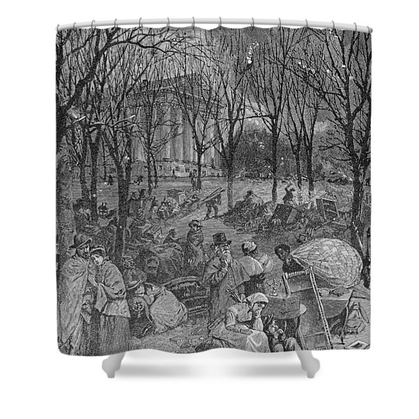 Lenox, Massachusetts, From Historical Collections Of Massachusetts, John Warner Barber, Engraved Shower Curtain