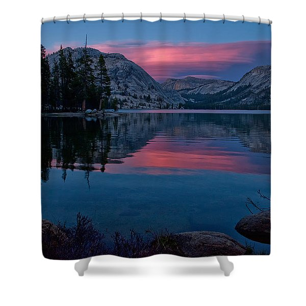 Lenticular Sunset At Tenaya Shower Curtain