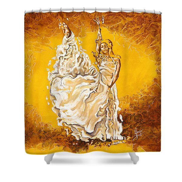 Let It Be Peace In My Soul Shower Curtain