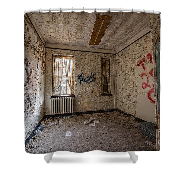 Letchworth Village Room  Shower Curtain