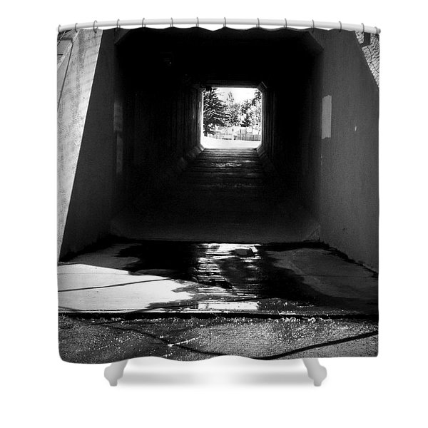 Lethbridge Underpass Shower Curtain