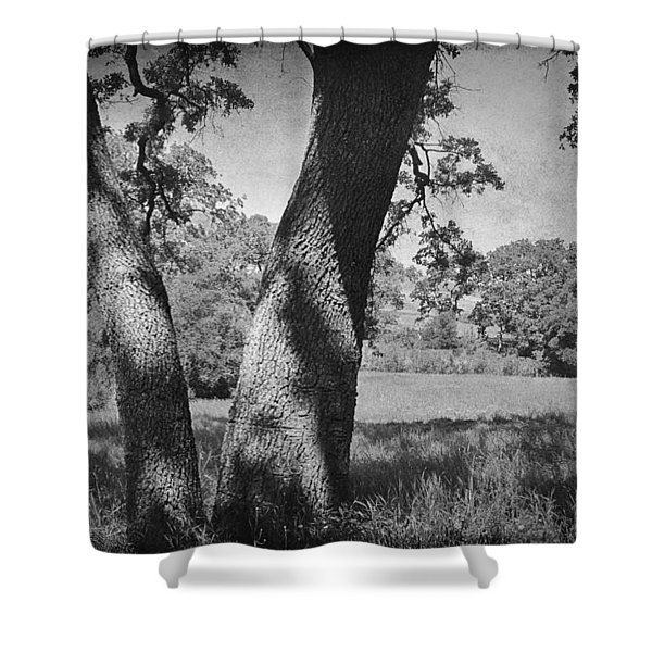 Let's Lay Here Forever Shower Curtain